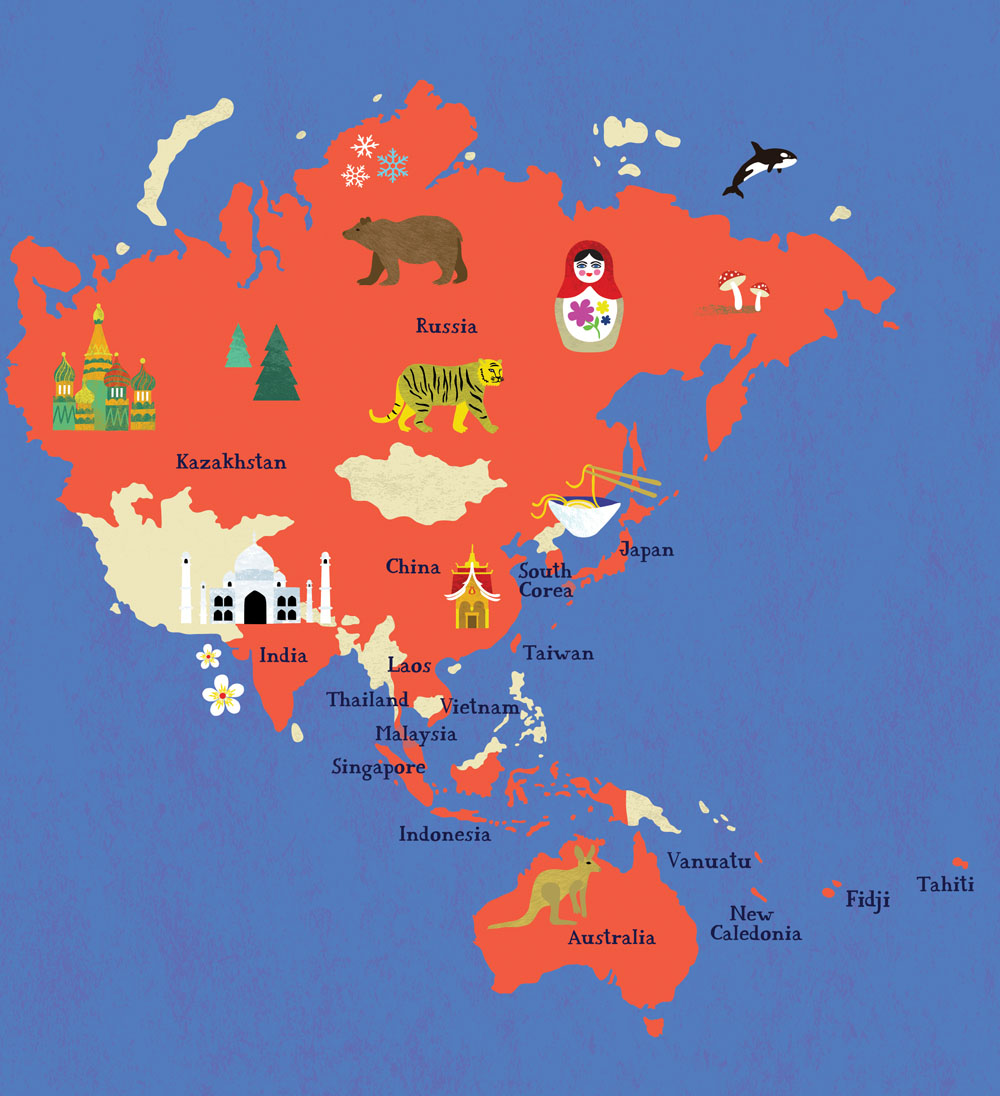 A map of the world bianca tschaikner gumiabroncs Image collections