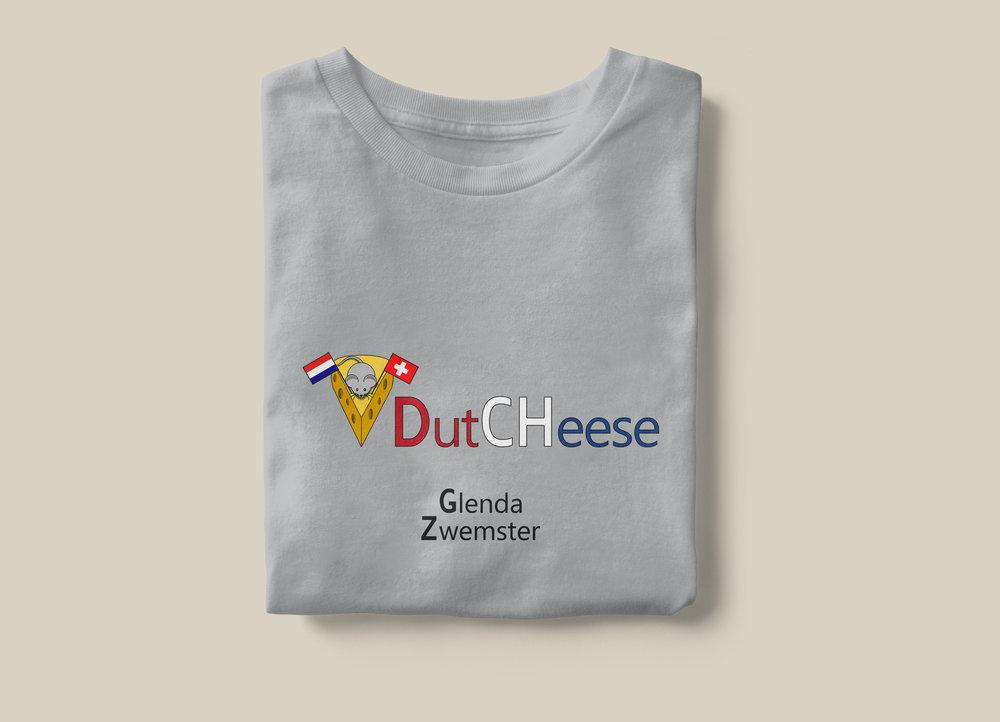 Dutcheese T-shit mockup