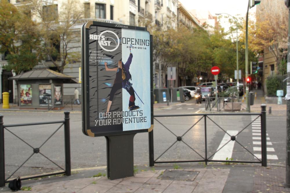 Poster advertisement Rotsvast