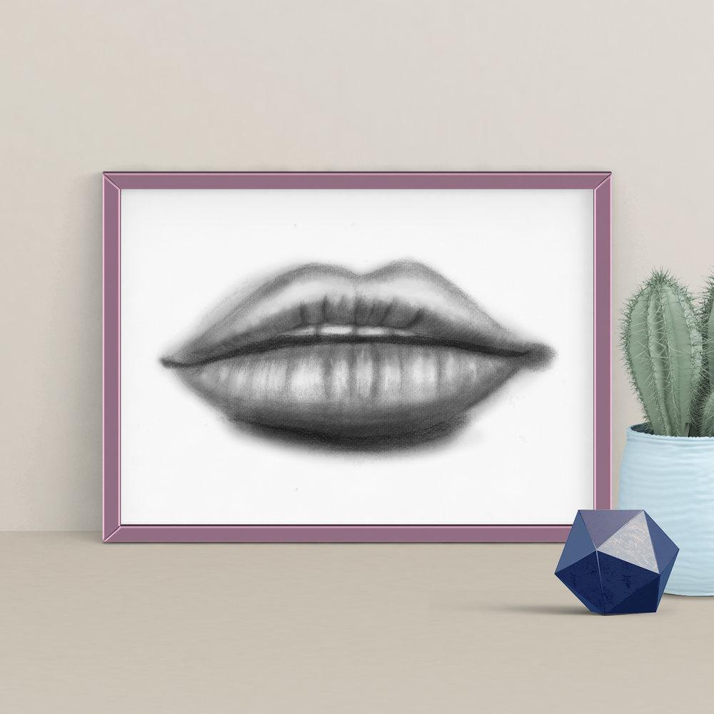 Lip Sketch