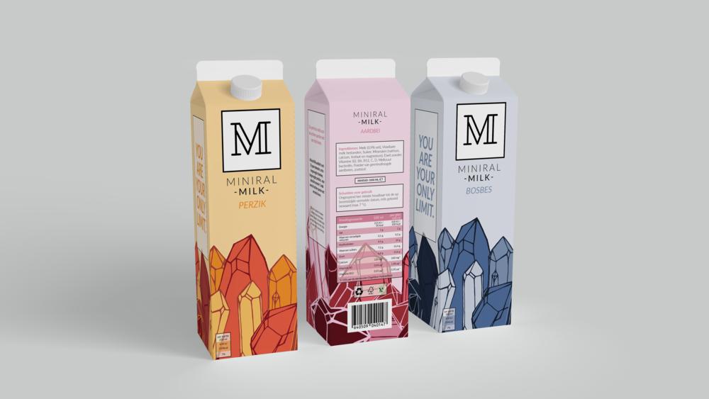 Miniral Milk Mock up