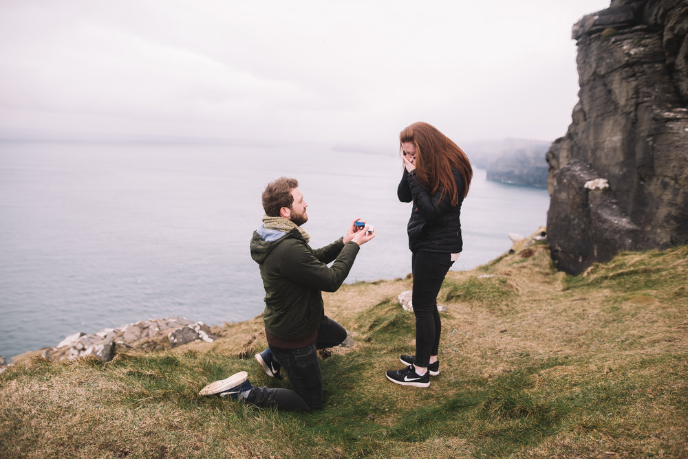 proposal on the cliffs of moher