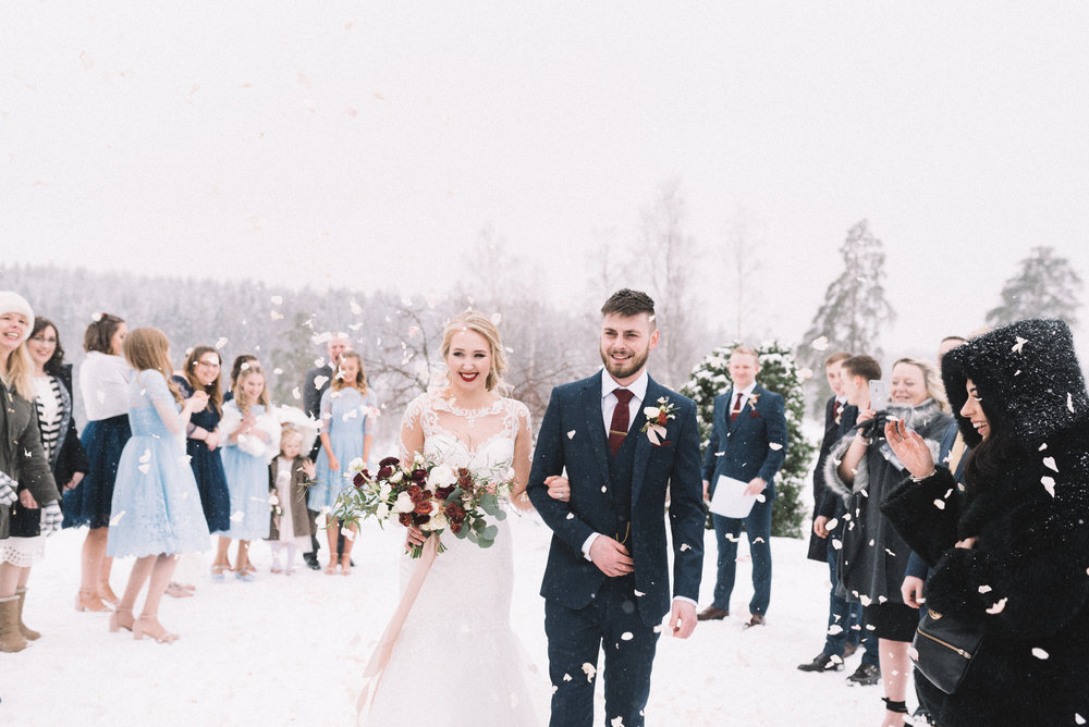 Finland Winter Wedding