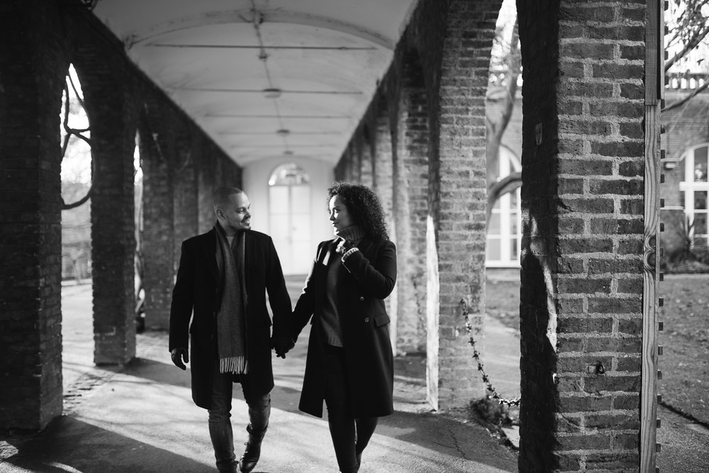 Holland Park engagement shoot, Lucie Watson Photography, London engagement photos