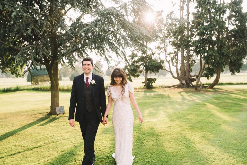 gosfield hall wedding photography, Lucie Watson photographer, golden hour wedding photos