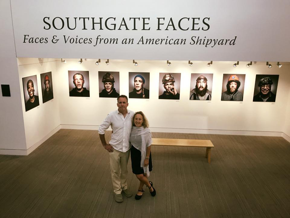 Southgate Faces at Lewis Gallery