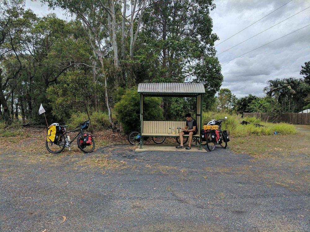 Lunch Stop, between Bundaberg & Gin Gin