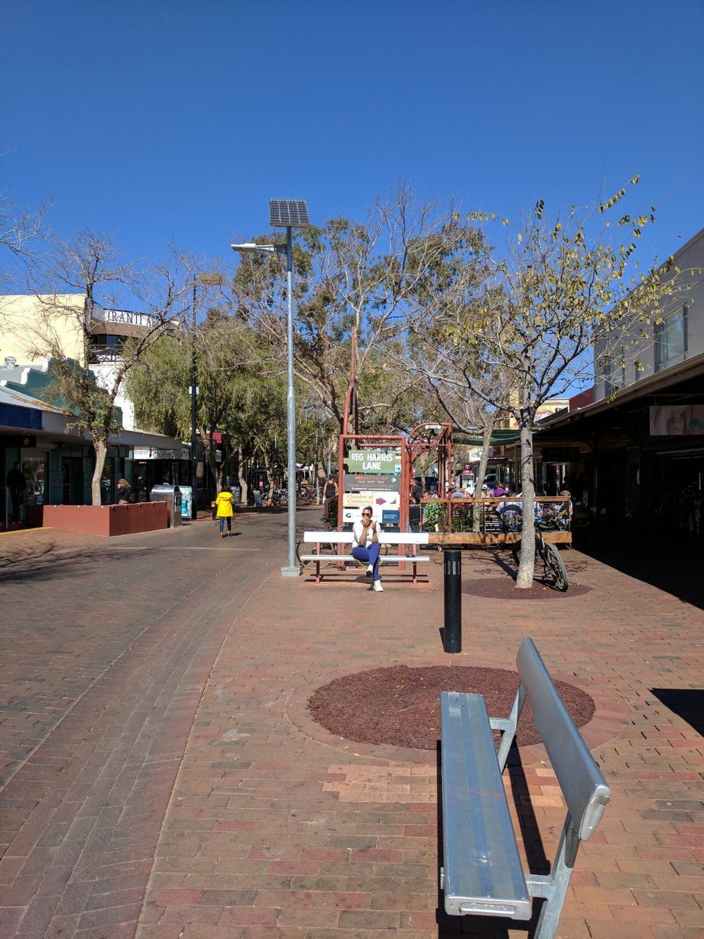 South end Todd Street Mall