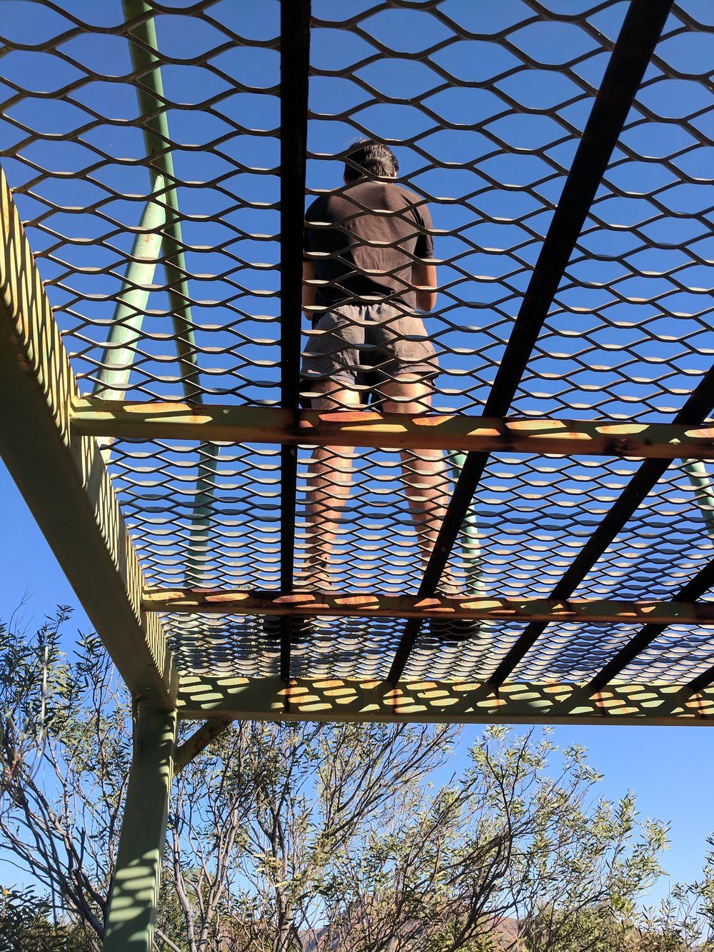 viewing tower at the docker river campground