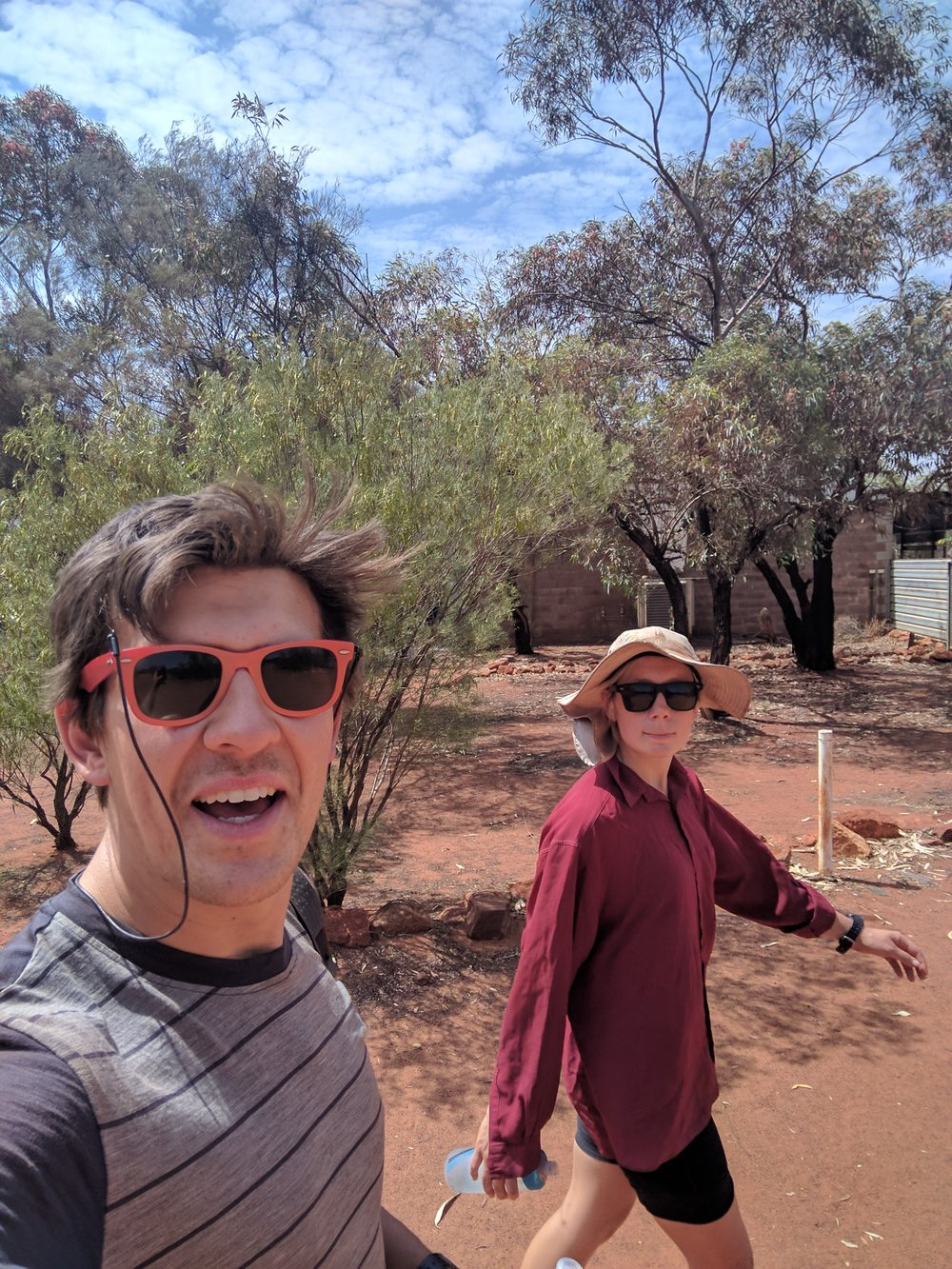 Birthday Stroll, Tjukayirla Roadhouse