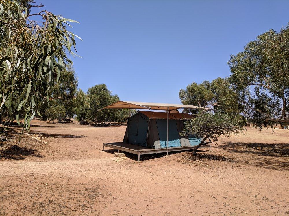 """Wooramel """"eco-tent"""""""