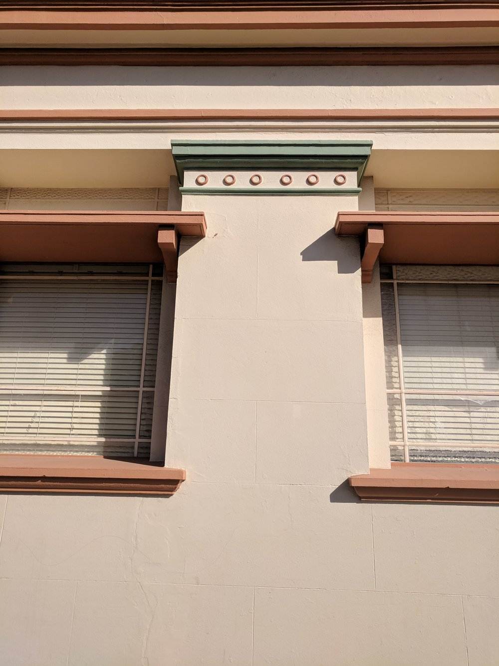 Facade Ornamentation, the old commonwealth bank
