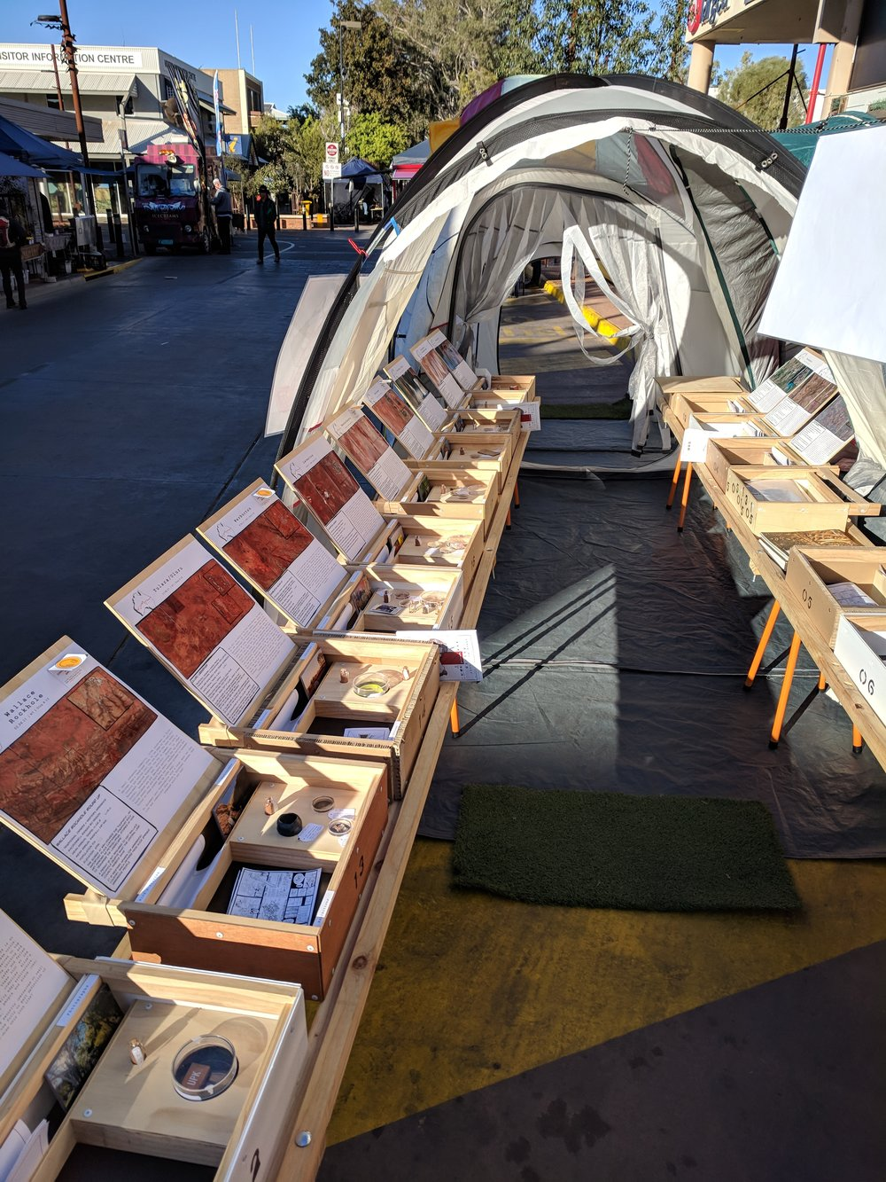 (Sun) Todd Mall Market set up 1.0