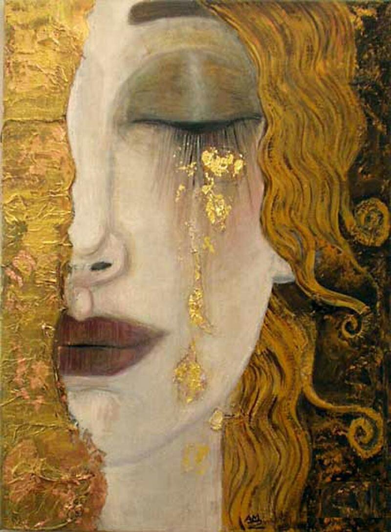 Gustav Klimt - Golden Tears   https://theartstack.com/artist/gustav-klimt/golden-tears