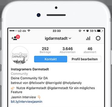 IGDarmstadt bzw. Instagramers Darmstadt