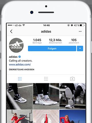 Adidas Instagram Profil