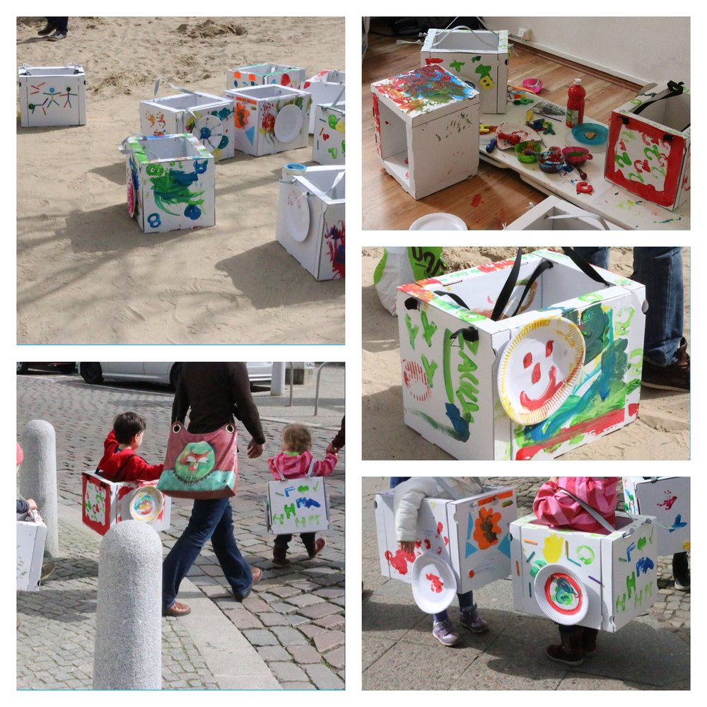 little art birthday party in Berlin, Kinderkunst Geburtstag