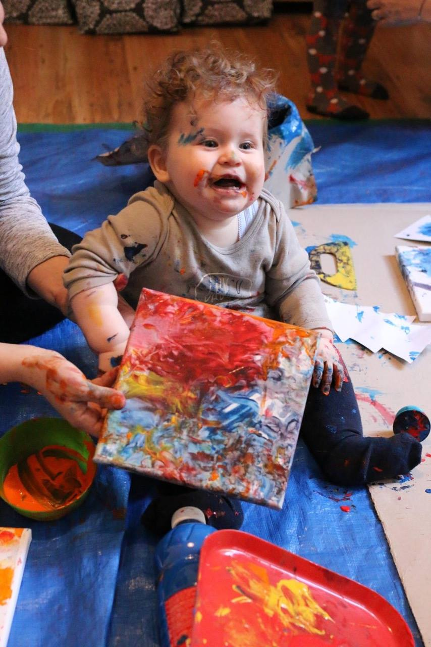 Kinderkunst Geburtstagsfeier Berlin