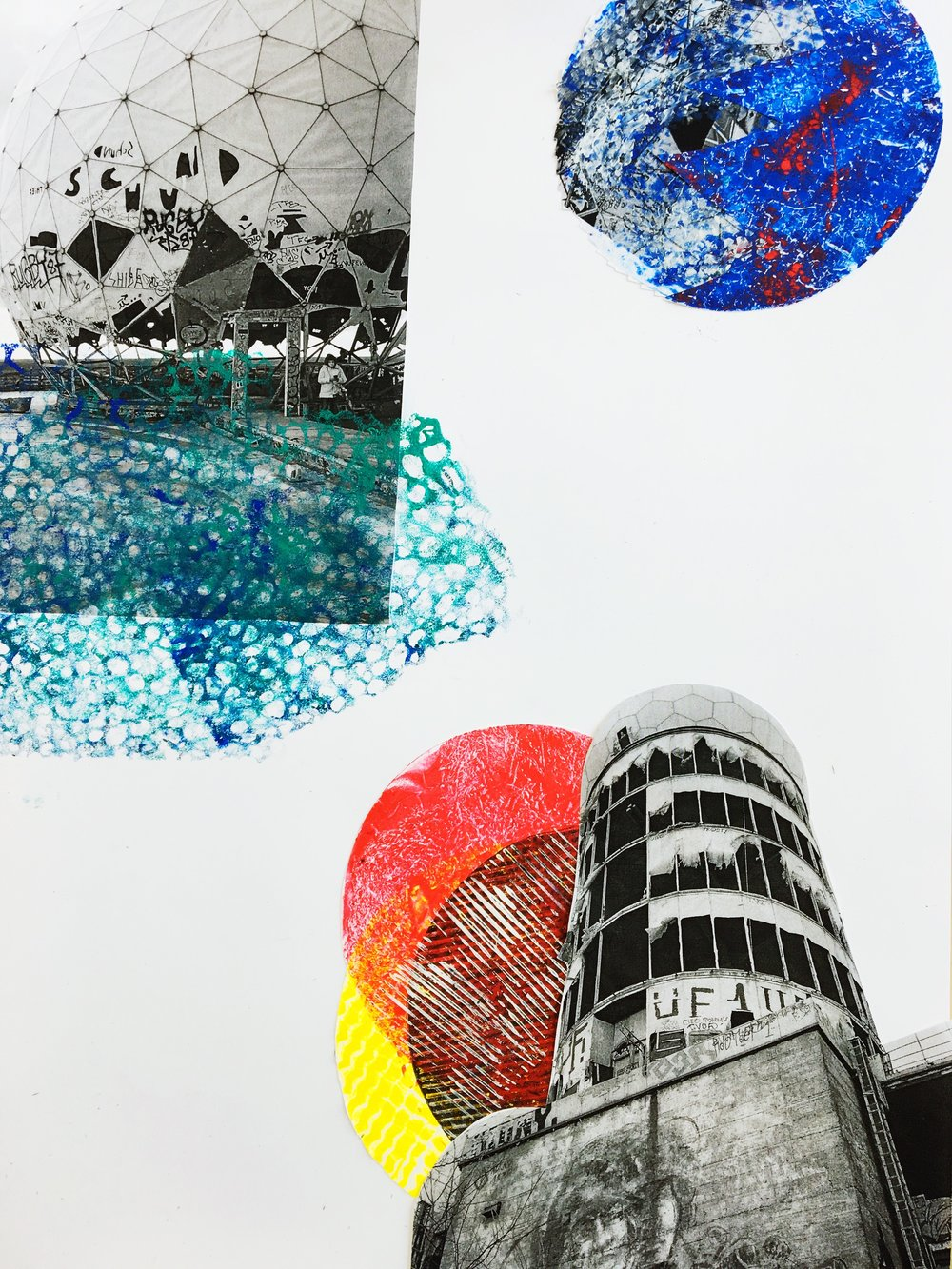Teufelsberg Berlin, Graphic art workshop for kids Berlin birthday