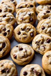 whether you have a snow day or you have these fresh from the oven on cooling racks when the kids come home from school….. is there anything better than warm chocolate chip cookies?