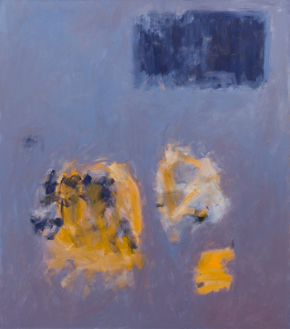 Yellow Trio   122x108cm (48x42in) Oil on canvas
