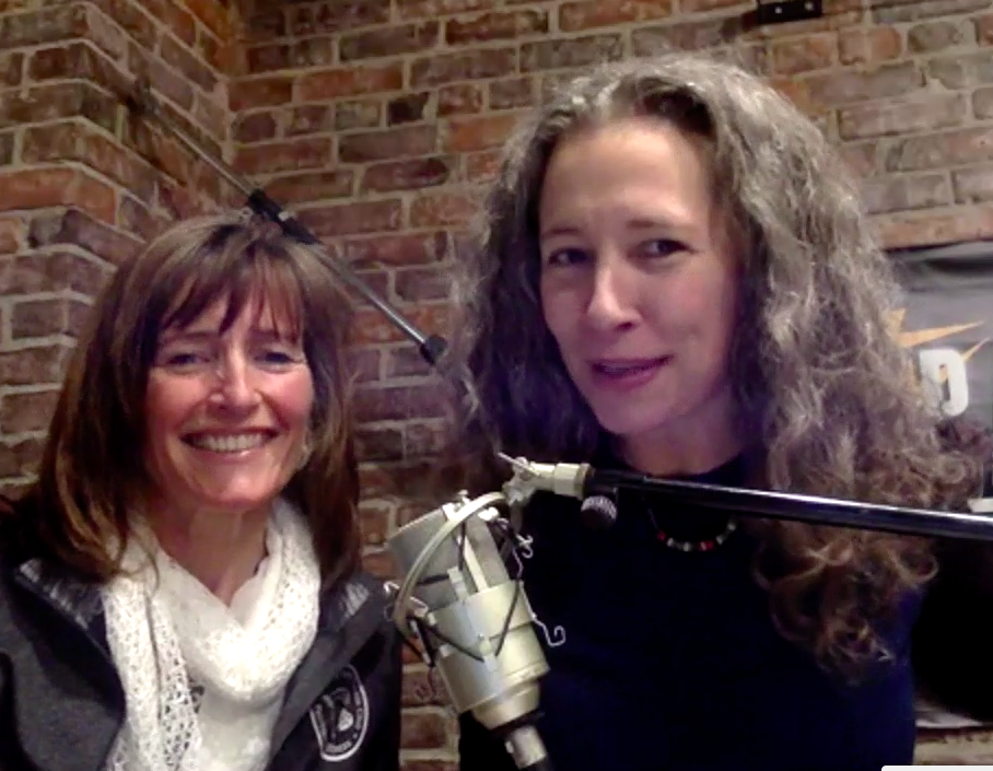 Robin Robertson, co-host, and Erika Flint, host of Reprogram Your Health Radio