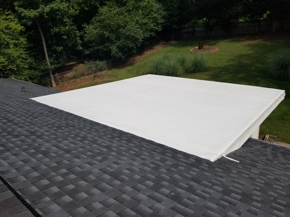 Residential Tpo Installation Sherlock Roofing