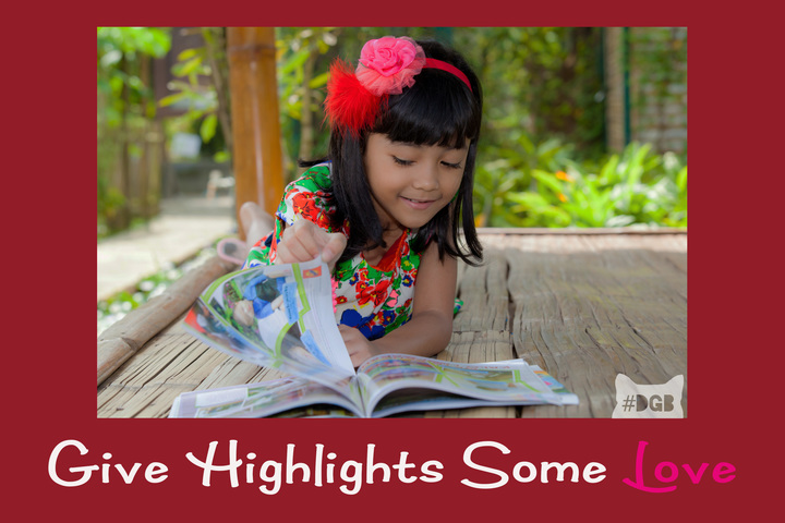 Tell Highlights Magazine You Dig Their Designs On Diversity Daily