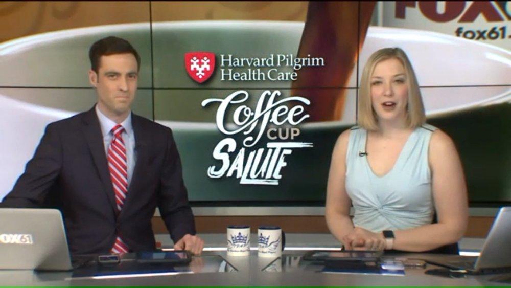 FOX 61 TFAP COFFE CUP SALUTE   JANUARY 11, 2019    SEE ARTICLE
