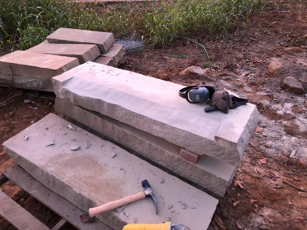 custom cut sand stone sills