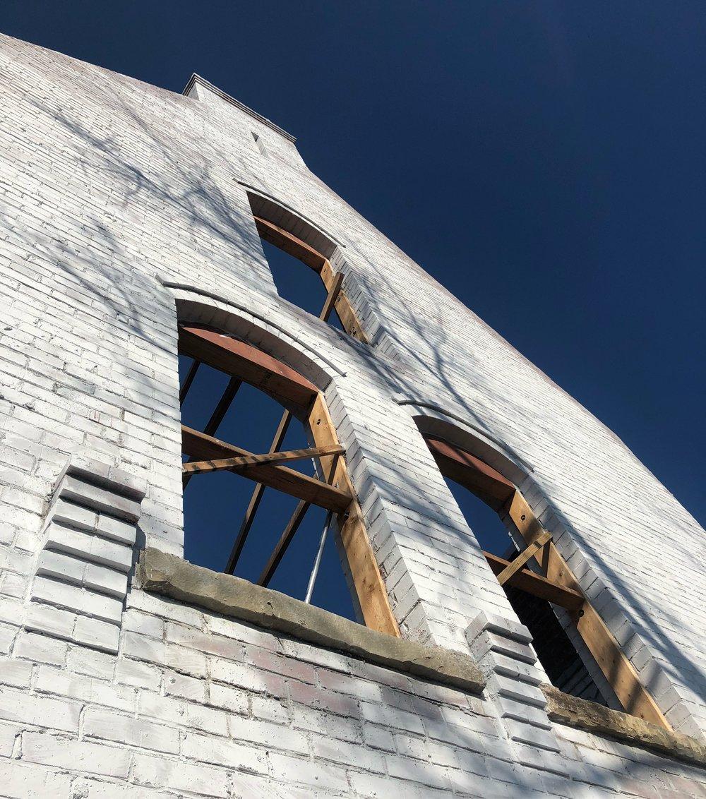 building culture edison cottage limewash brick masonry