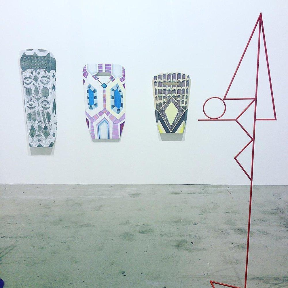 Zora Mann & Vanessa Safavi  Galerie Chert, Berlin (à ART-O-RAMA)