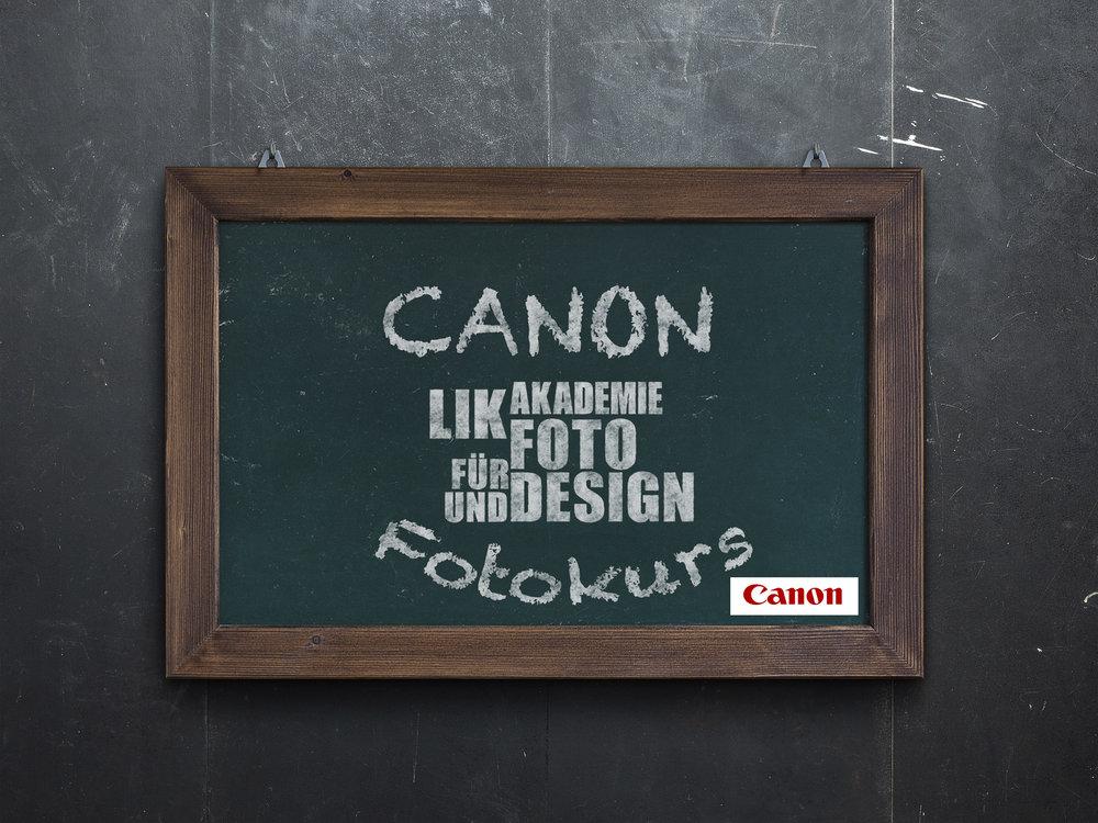 CANON Fotokurs - LIK Akademie für Foto und Design