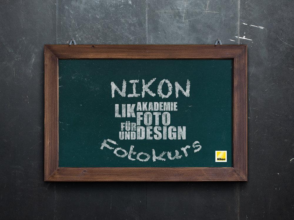NIKON Fotokurs - LIK Akademie für Foto und Design