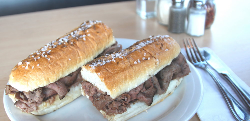 Bisonte Beef on Weck Sub
