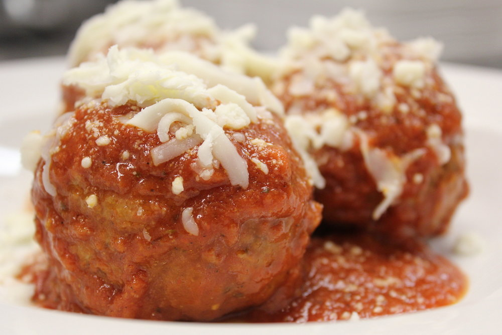 Bisonte meatballs