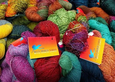 """""""Soft Twist"""" by Blue Heron Yarns"""