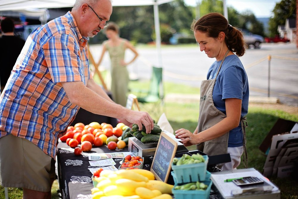 Berea Farmers Market | Lazy 8 Stock Farm