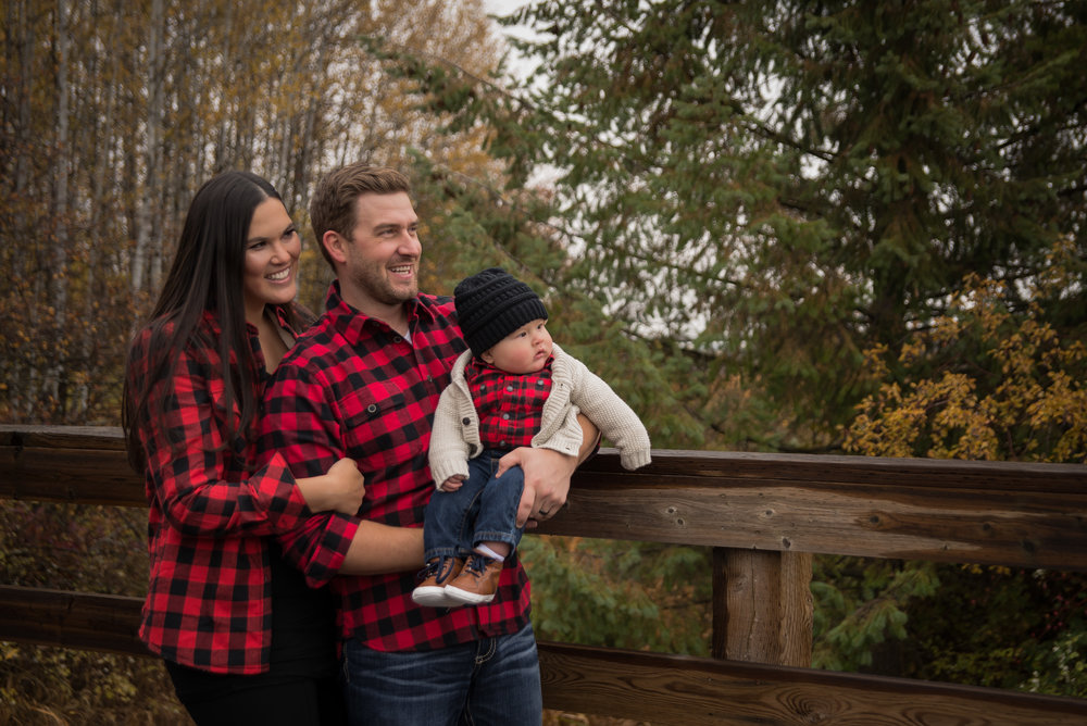Jenna & Jeremy - Whitefish Family Photographer