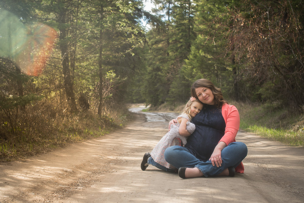 Holly & Ian - Kalispell Maternity Photographer