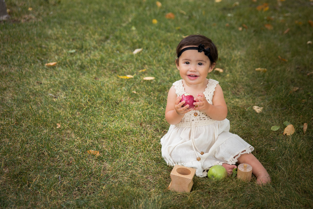 Gwen One Year - Kalispell Baby Photographer
