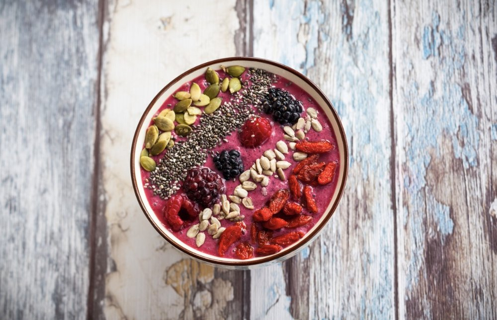 Goji Berry Smoothie Bowl