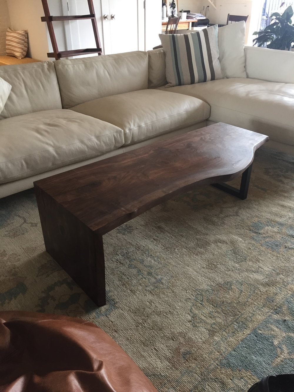 Claro Walnut Coffee Table, 2018