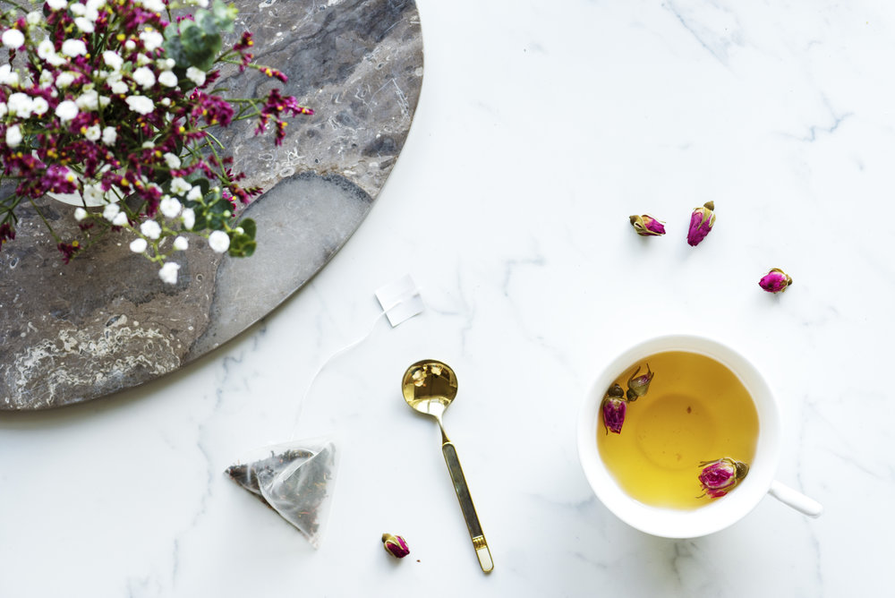 Ayurveda Tea and Rose Herbs