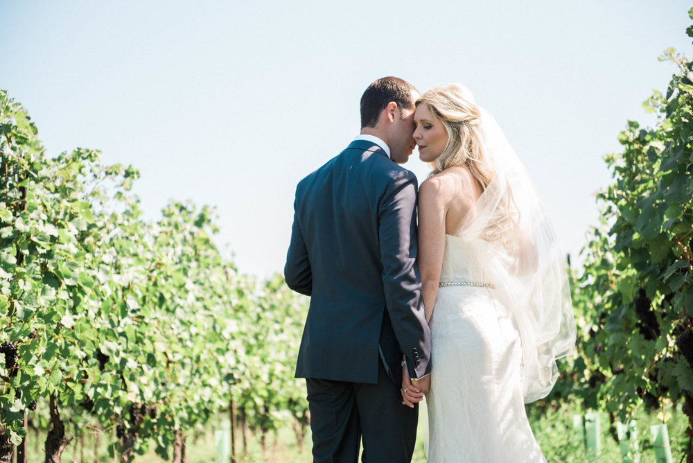 Niagara On The Lake Vineyard Wedding