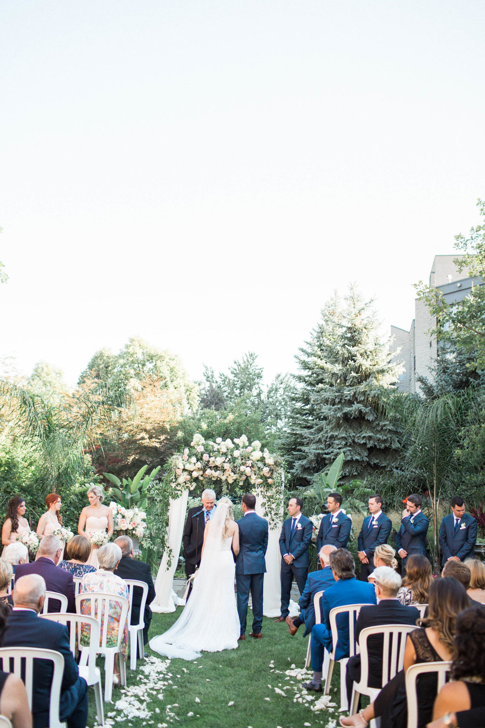 Niagara Wedding White Oaks Garden Nataschia Wielink Photography Arbour