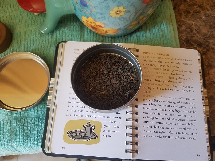 Book excerpt from  The Little Black Book of Tea