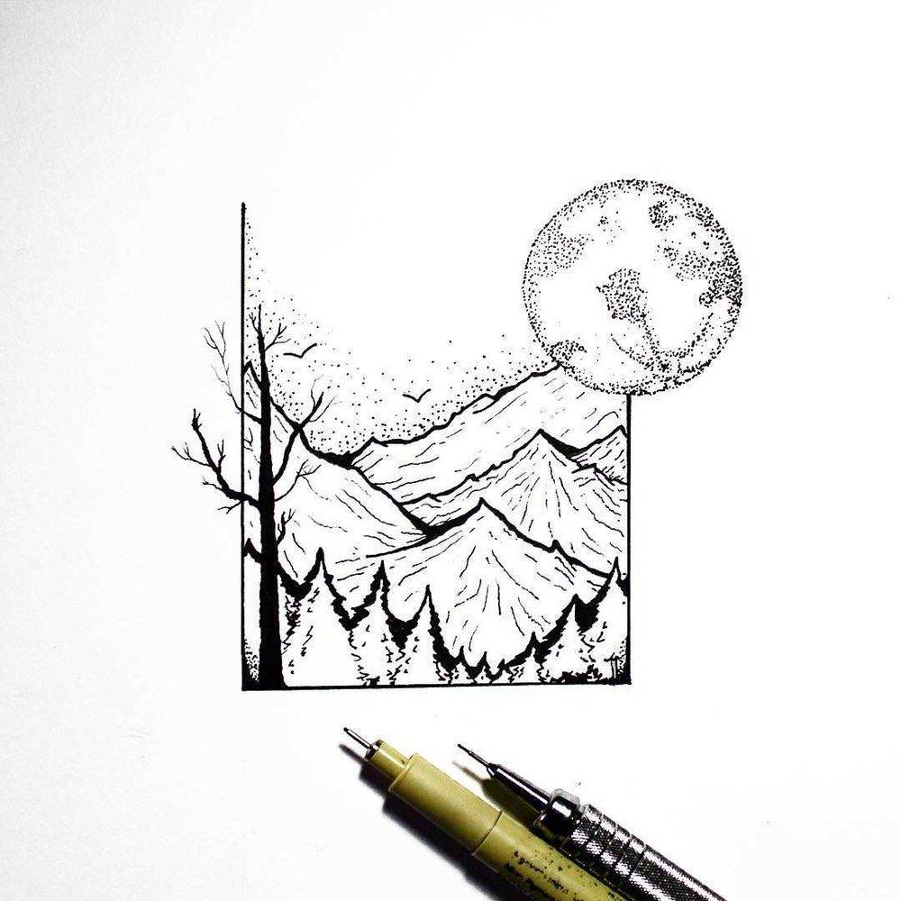 autumn moon and mountaisn design.jpg