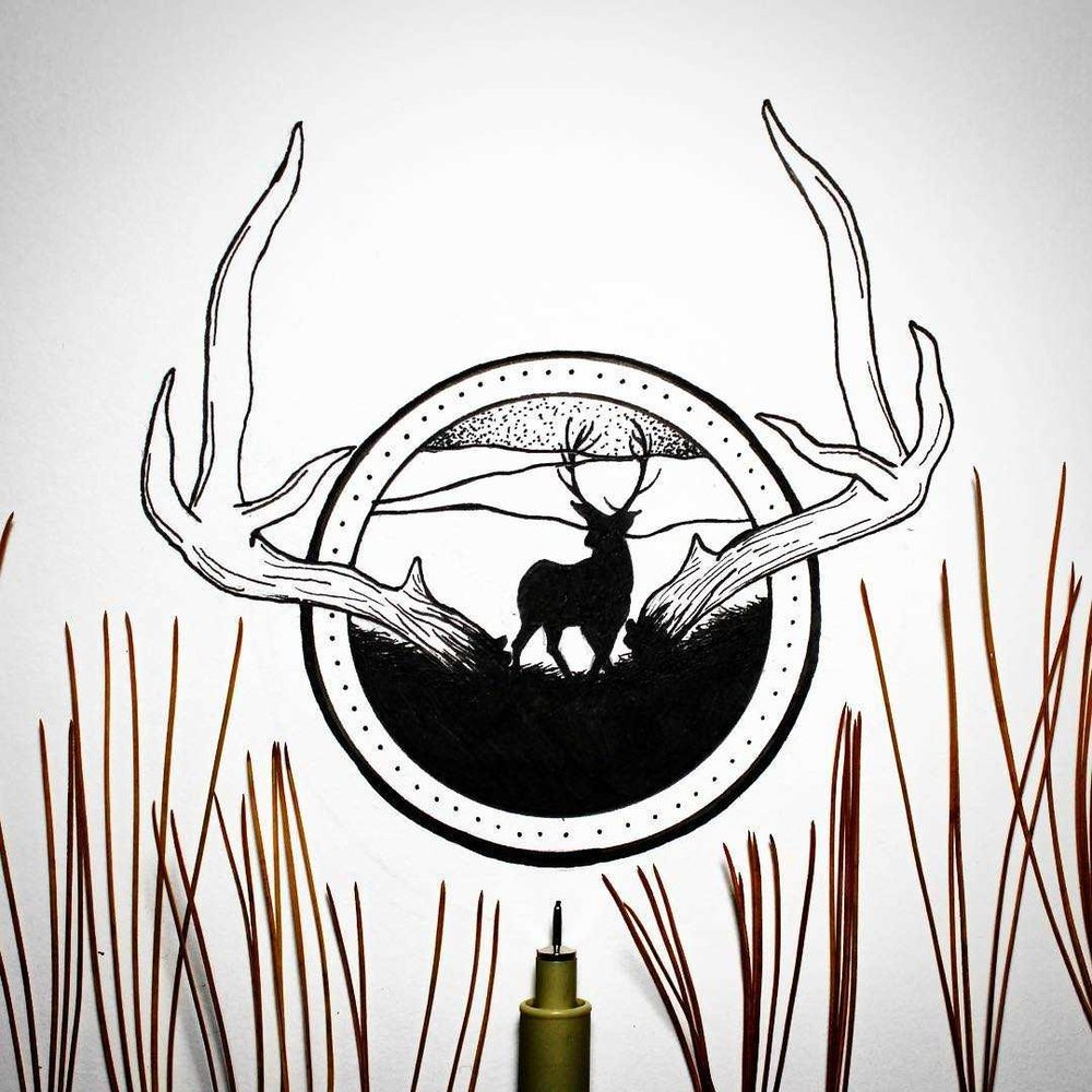 stag and mountains design.jpg