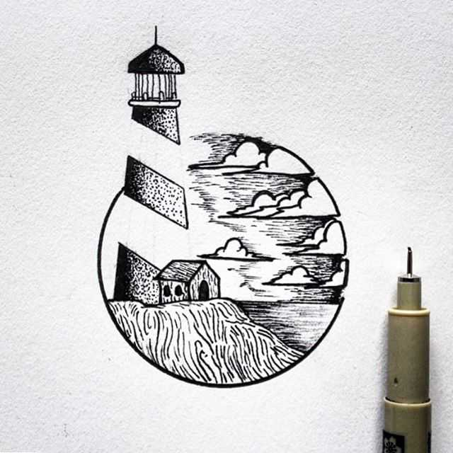The White Lighthouse